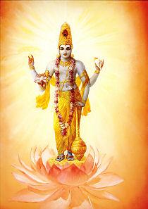 Vishnu - the super soul within the heart